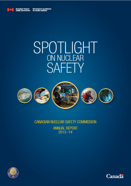 Annual reports canadian nuclear safety commission 2013 2014 annual report malvernweather Image collections