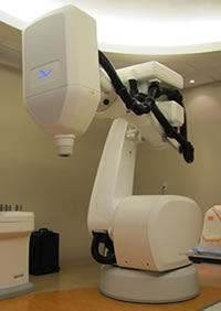 Robotic medical linear accelerator used in cancer treatment