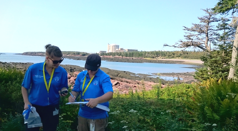 Environmental monitoring near the Gentilly-2 facility, Bécancour, QC