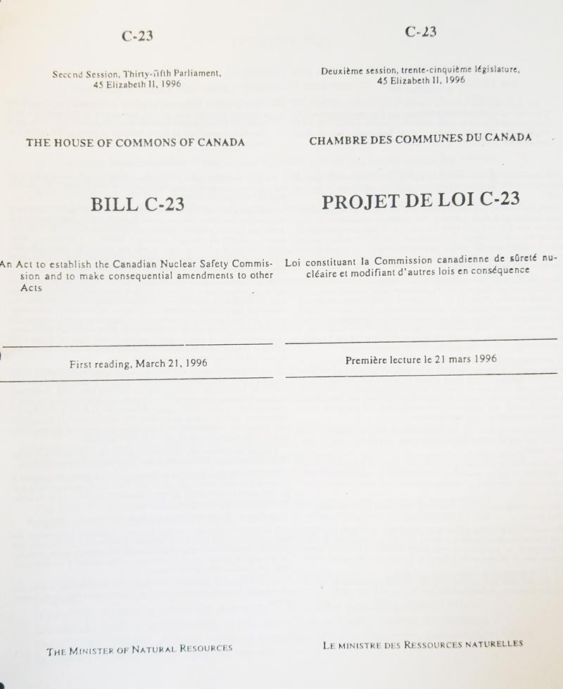 Bill C-23