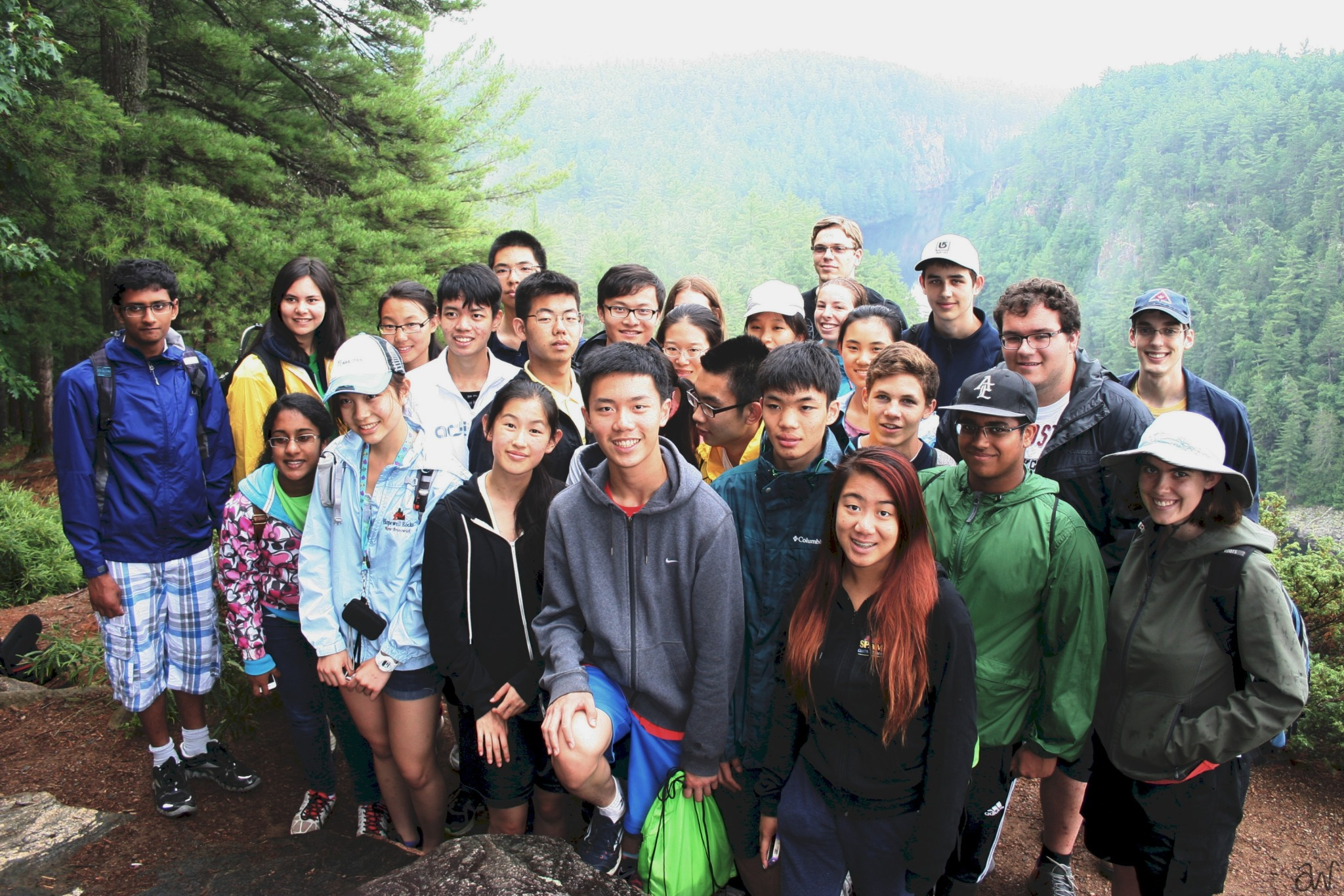 Deep River Science Academy 2014 summer camp participants