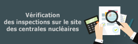 Vérification des inspections sur le site des centrales nucléaires