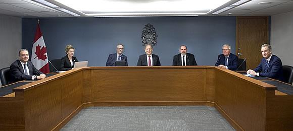 Réunion de la Commission